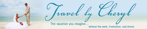 Travel By Cheryl Honeyfund Logo